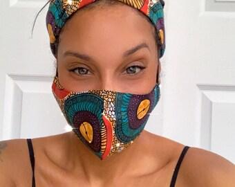 High Quality Ankara Face Masks