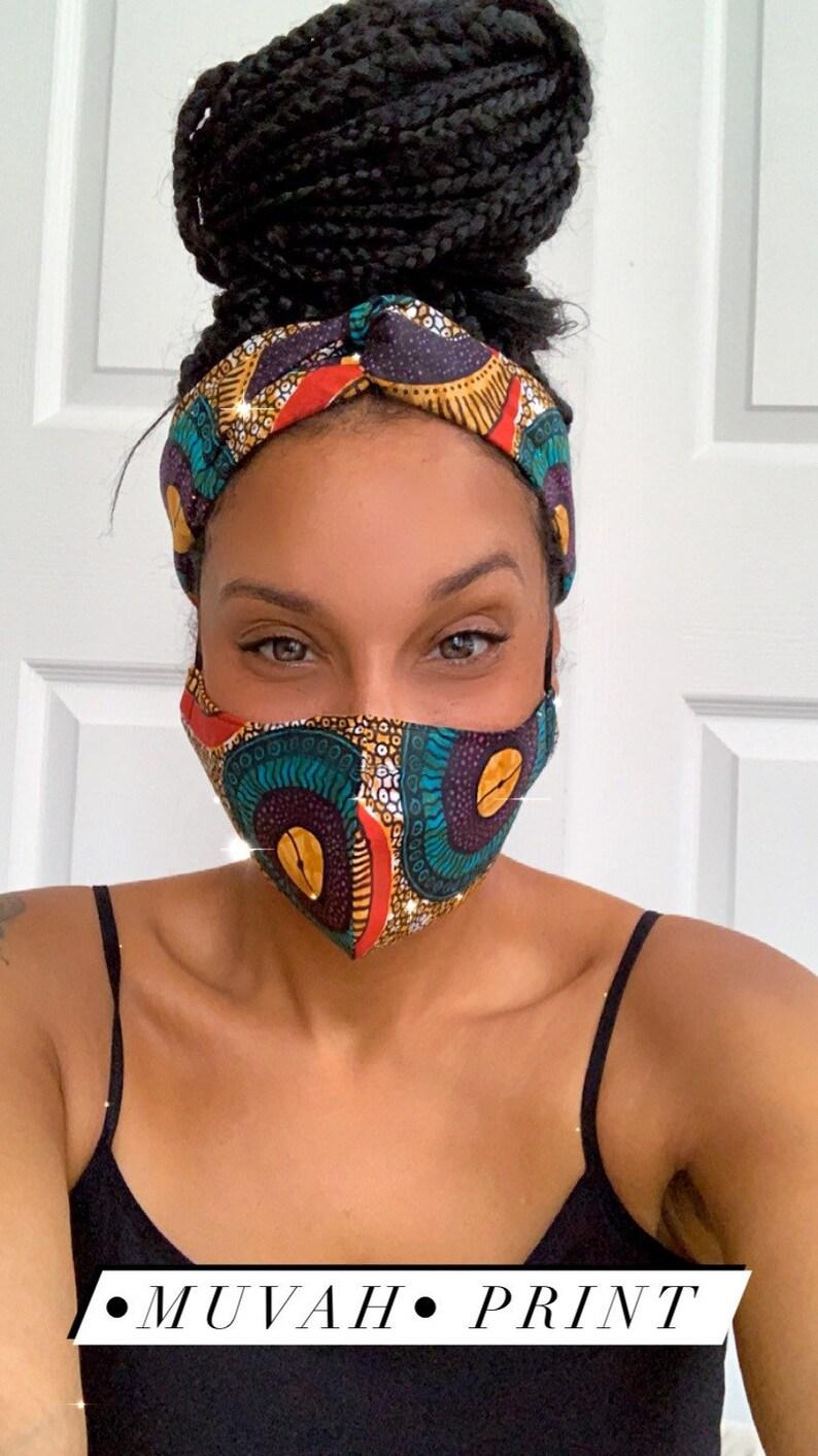 High Quality Ankara Face Masks Muvah
