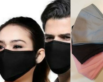 Face Mask with Nose Wire Washable Reusable Face Mask Best Face mask Unisex Wire Adjustable Earloops Perfect Fit Best Mask Wholesale Bulk