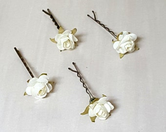 7 Colors 07275 Hair Accessories 20pcs 16x6mm Bobby Pins Flower Filigree Pad Flower Hair Findings Brass Jewelry Vintage Flower Hairpins