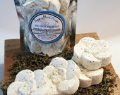 HEADACHE Shower Steamers and Candle, Migraine Temporary Relief, Menthol Crystals, Peppermint Rosemary Aromatherapy Shower