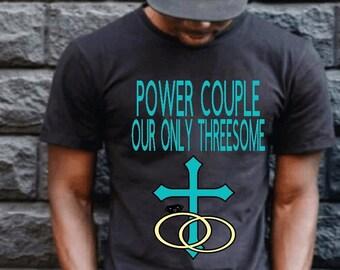 POWER COUPLE Men's Tshirt