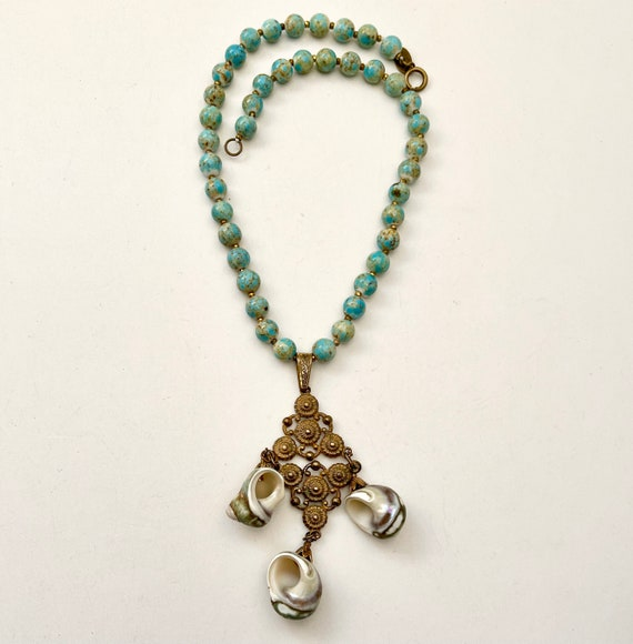 Haskell Shell Necklace