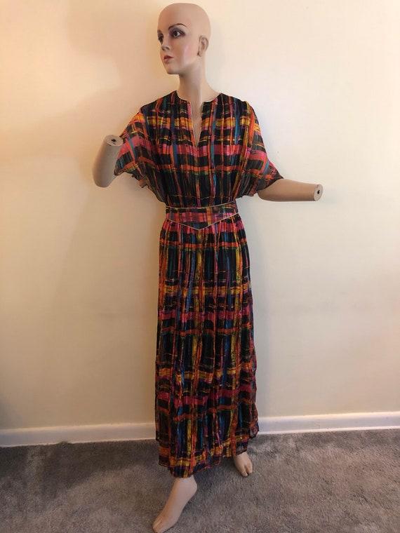 Medium 80's rainbow dress