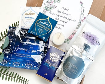 Spa Box - Self-care - Hug in a Box - Care Package - new home - pamper hamper  - spa gift sets - pick me up - gifts for her - letterbox gift