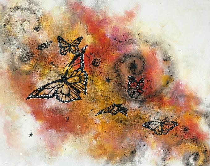 Cosmic butterfly's