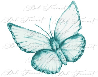 PNG Sublimation Designs Instant Download Digital Graphics Art File - Country Art Butterfly - Buy, Download and Create