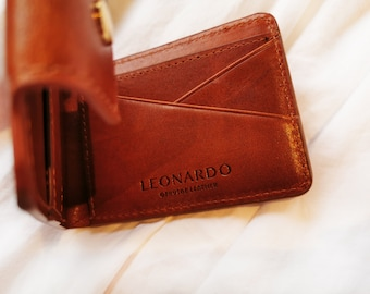 Blocking Money Clip Leather, minimalist wallet, simple wallet, small wallet, slim wallet, Front pocket wallet, Money clip, mens gift