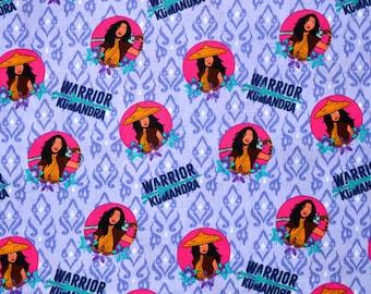 RAYA and the Last DRAGON FABRIC   Sold By The Half Yard!   For Sewing Quilting   100% Cotton   Disney Princess Pink Purple Circles Kumandra