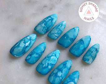 Thirsty   Press on Nails   False Nails   Matte or Glossy