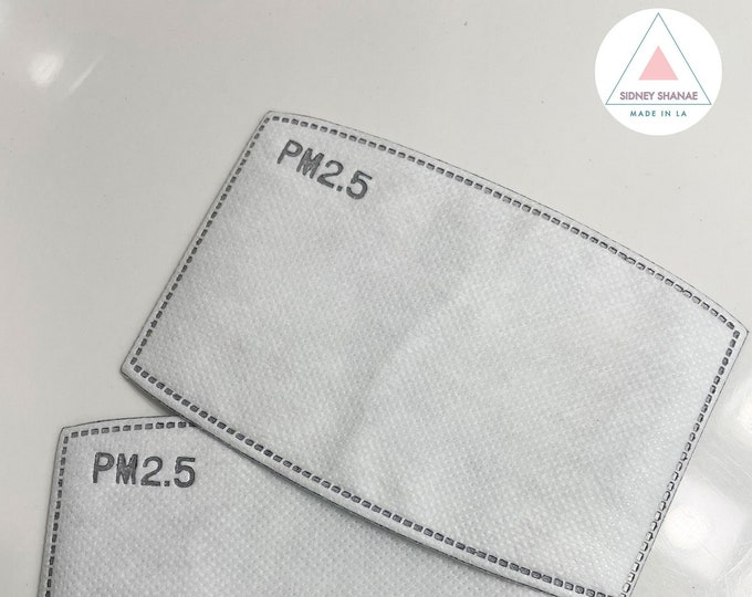 PM 2.5 Activated Carbon Filters | Mask Filters | 5 Layers Replaceable Anti Haze Filter Paper