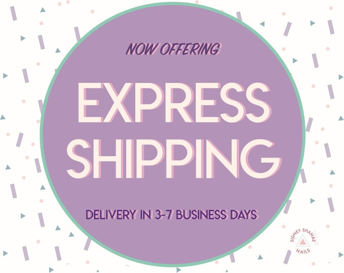 Upgraded | Express Shipping