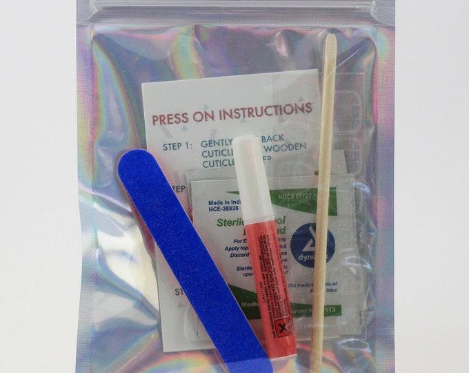Application Kit | Press on Nails | False Nails | Matte or Glossy