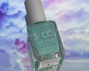 Aquamarine Nail Polish | Vegan Nail Polish | Non-Toxic  | Cruelty Free