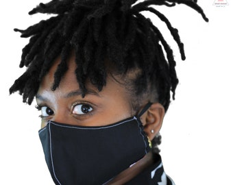 Reusable Face Mask w/ Filters | Nose Guard | Adjustable Straps