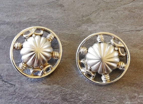 1950s Schiaparelli Clip Earrings