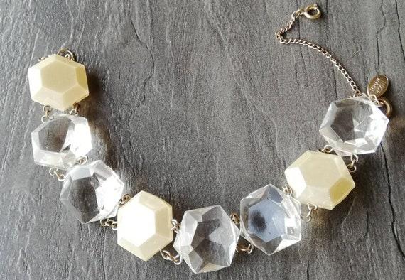 1950s Miriam Haskell Lucite Bracelet