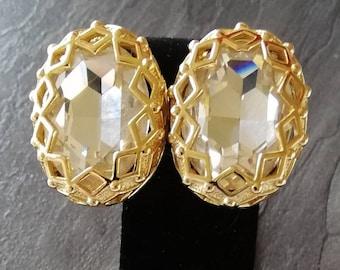 1980s Dior Clip Earrings