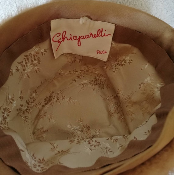 1960s Elsa Schiaparelli Mink Peachbasket Hat - image 3