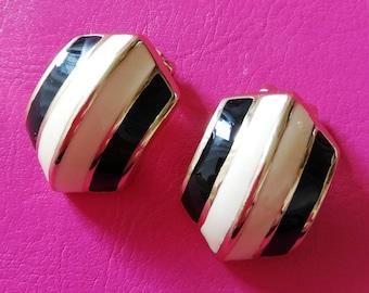 1980's Dior Clip Earrings