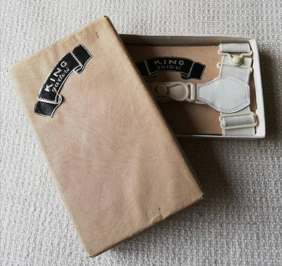 1930s or 1940s Gentleman's Sock Garters