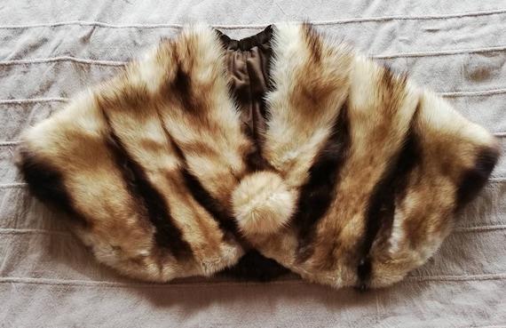 1940s Fur Capelet