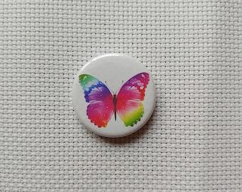 Rainbow Butterfly Needle Minder