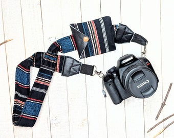 Photographer Gift Camera Accessories Color Close-Knit Stripe Camera Strap Camera Strap Stripes Shoulder Straps