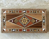 marquetry box Jewelry Storage cigar middle eastern