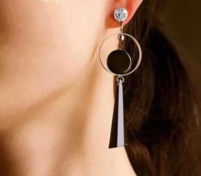 Women metal Jewelry Summer Earrings Fashion Fancy Gold/& Silver Earrings Accessory Cute Earrings DangleDrop Earrings Color Earrings