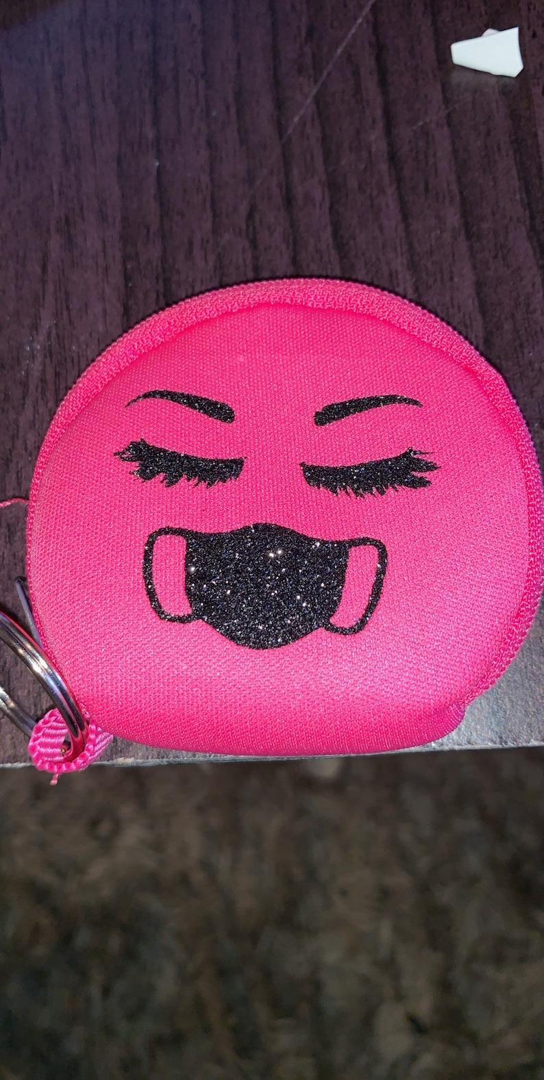 Mask holder keychains