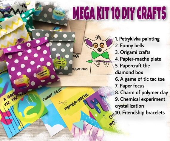 Adult Christmas Craft Kit 10 Diy Advent Crafts Advent Etsy