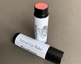 Natural Raspberry Lip Balm | Natural Lip Moisturizer