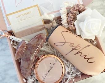 Bridesmaid Proposal Box Personalized Gift Blush Will You Be My Bridesmaid Box Set (LL080621B)