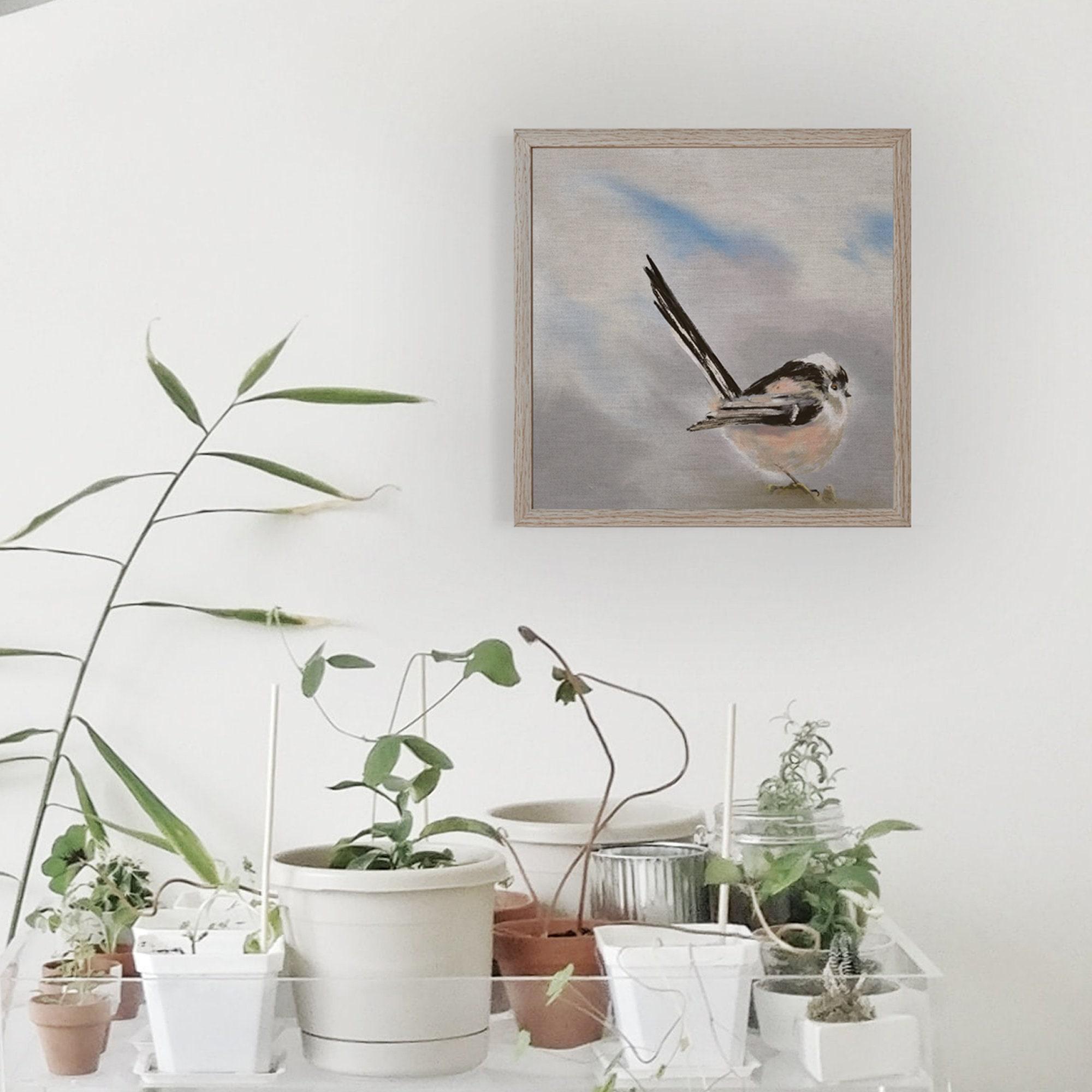 Lange Schwanz Titten Garten Vogel Fine Art Print Natur | Etsy
