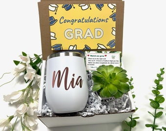 mini plant gift graduation gift promotion gift succulent gift box Congratulations gift box way to go grad gift live plant gift