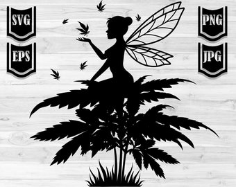 Cannabis Fairy Etsy