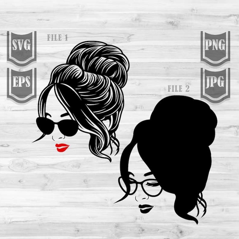 Messy Hair Bun Svg Free – 233+ SVG Design FIle