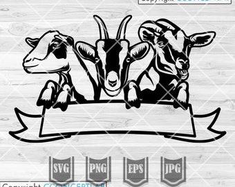 Farm Goat svg | Farm Life svg | Goat Clipart | Farm Owner svg | Goat Cutfile | Farm Goat Logo svg | Farm Logo svg | Farm Shirt svg| Farm png