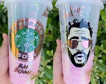 Dakiti Bad Bunny V Day Gift Starbucks Cup Valentine/'s Day Bad Bunny Custom Cup YHLQMDLG Bad Bunny Starbucks cup Bad Bunny Merch