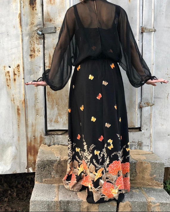 Stevie Nicks Butterfly Dress