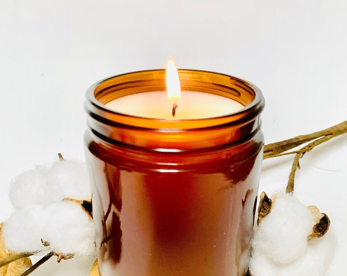 9oz Apothecary Jar Candle- Fall Scents