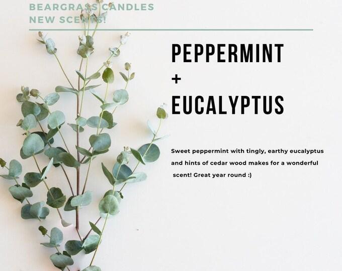 9oz  Peppermint & Eucalyptus