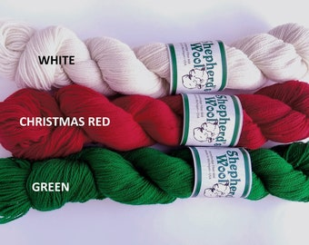 Shepherd's Wool yarn, merino, fingering weight, Stonehedge Fiber Mill, knitting yarn