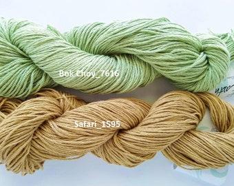 Fibra Natura Good Earth cotton/linen, worsted-Aran weight,
