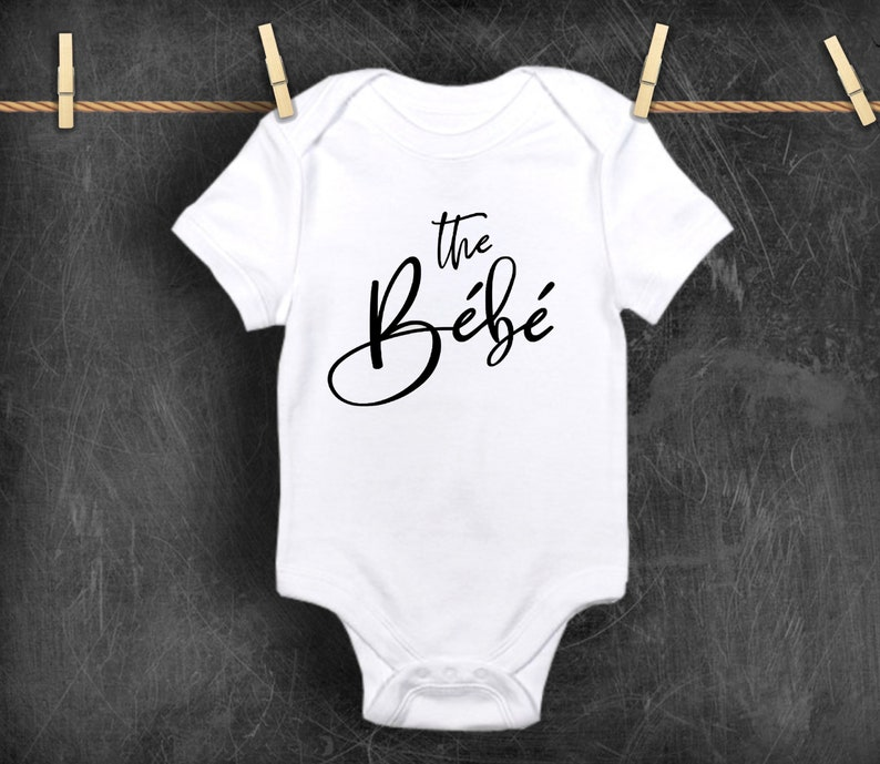 baby gift baby one piece bodysuit Toddlers The Bebe baby Bodysuit Expression Tee Shirt for Infants