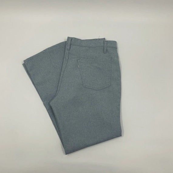 levis polyester pants made in USA - image 1