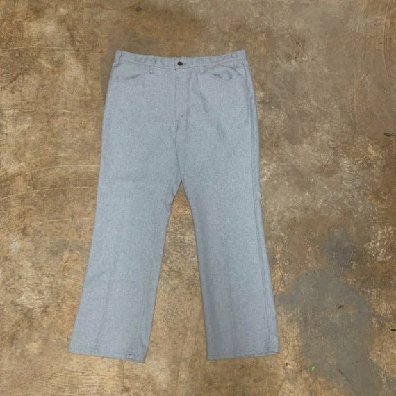 levis polyester pants made in USA - image 2