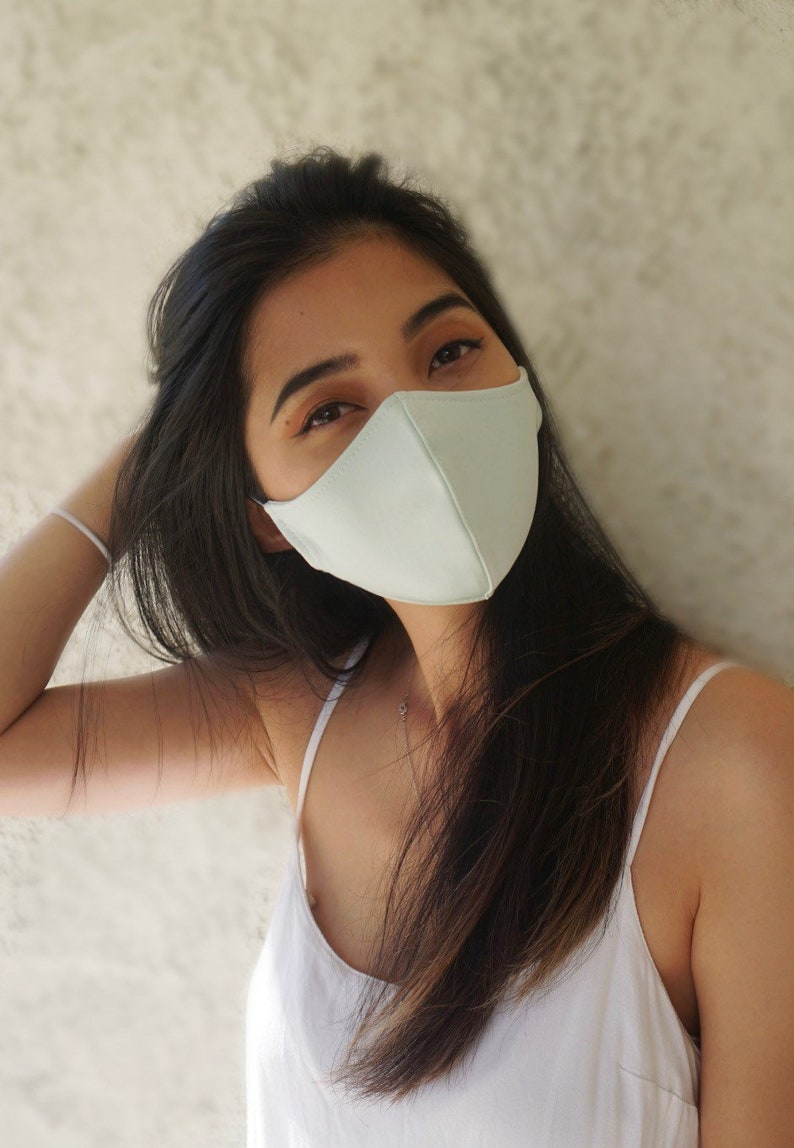 Pastel Pink, Light Blue, Mint Green, Lavender Face Mask and/or Scrunchies- Reusable, Washable, Fashion Contour Fitted, stretchy- Made in USA