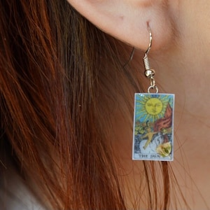 Astrology Zodiac Jewelry Birth Tarot Card Floral Blossom Necklace Fortune Teller Psychic Choker Quirky Hippy Magical Witchy Fairy Gift